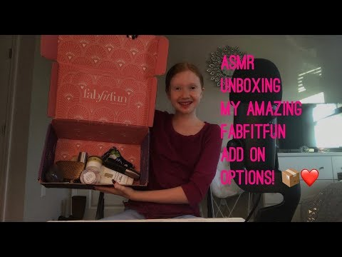 ASMR~ Unboxing All Of My Amazing FabFitFun Add On Options ( get yours TODAY )