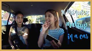 Μακιγιάζ στο αμάξι σε 10 λεπτά ft. Anna Amanatidou   katerinaop22