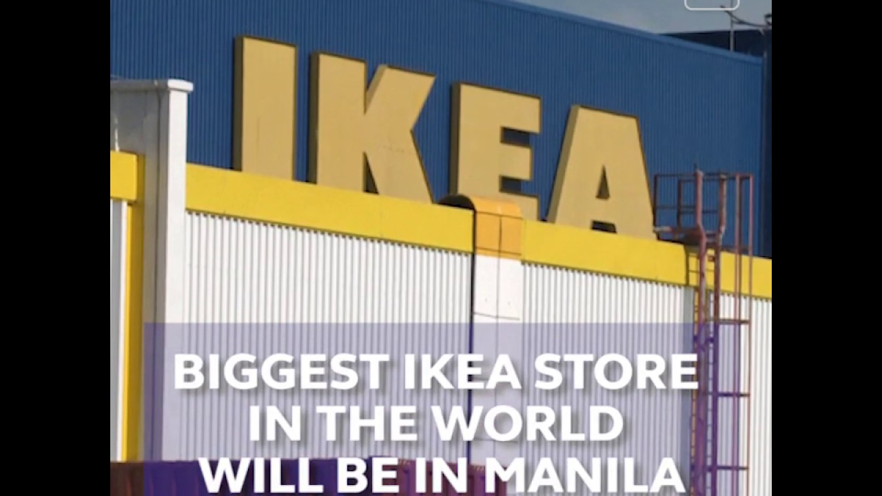 Biggest IKEA store in the world will be in Manila