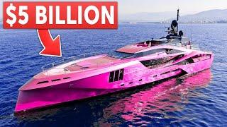 10 Najdroższych jachtów motorowych świata! / Most expensive yacht!