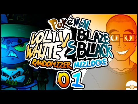 A STRESSFUL START! | Pokemon Blaze Black & Volt White Randomized Nuzlocke VS w/ Unlawfulexile - #01