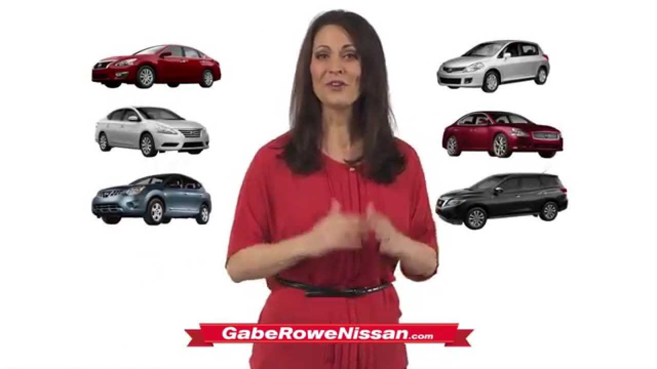 Gabe Rowe Nissan - Ultimate Sale - YouTube