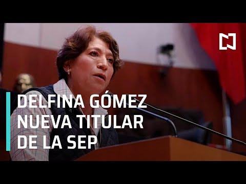 Delfina Gómez Álvarez será la nueva secretaria de la SEP - Expreso de la Mañana