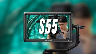 Best affordable camera monitor | Feelworld S55