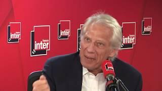 Dominique de Villepin est l'invité du Grand entretien de France Inter
