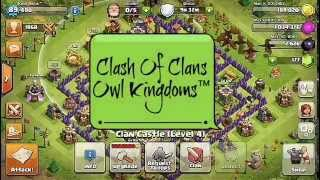 Clash Of Clans - Owl Kingdoms™ ( Ratakaan !!! )