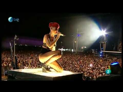 Rihanna - Rockstar @ Rock iN Rio Madrid 2010.flv