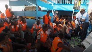 IOM Evacuates 672 Migrants from War-Torn Yemen