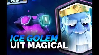 ROYAL GHOST UIT SUPER MAGICAL CHEST!! - CHEST OPENING! - Clash Royale