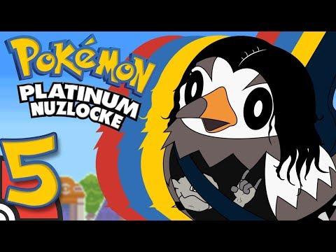 Pokemon Platinum NUZLOCKE Part 5 - TFS Plays