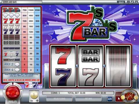 3 reel slot machines percentages of races in america