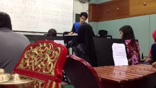 Upsi degree in music education 2014 gamelan melayu class