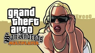 GRAND THEFT AUTO SAN ANDREAS ONLINE!