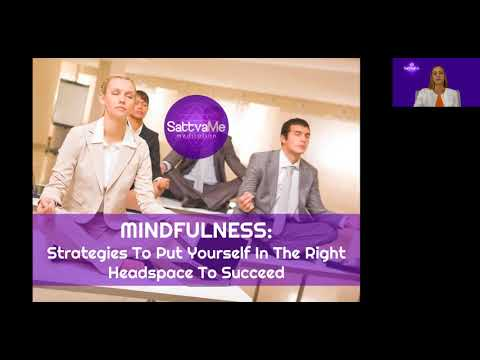 "Petra Presents ""Mindfulness"" a Webinar with Oksana Esberard"