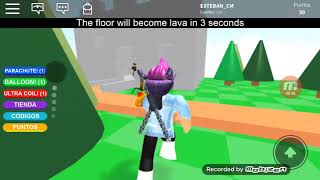 GAME OF ROBLOX THE PISO ES LABA