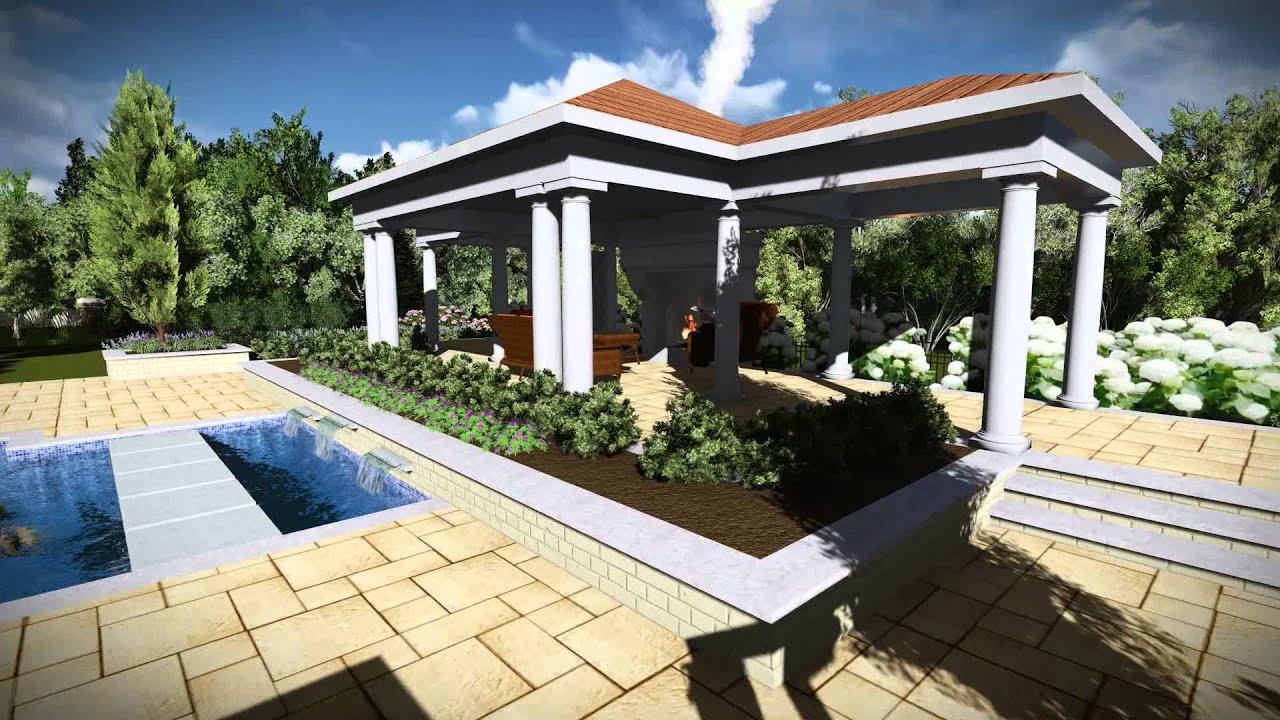 Swimming pool landscape design grow landscapes for Pool design virginia