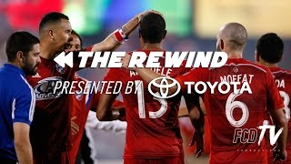THE REWIND pres. by Toyota | FC Dallas vs. New England Revolution | FCDTV