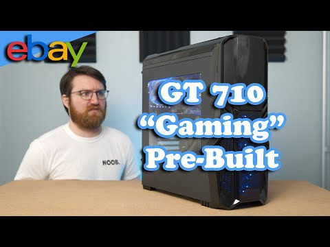 I ACTUALLY Bought A GT 710 Gaming PC From eBay... thumbnail