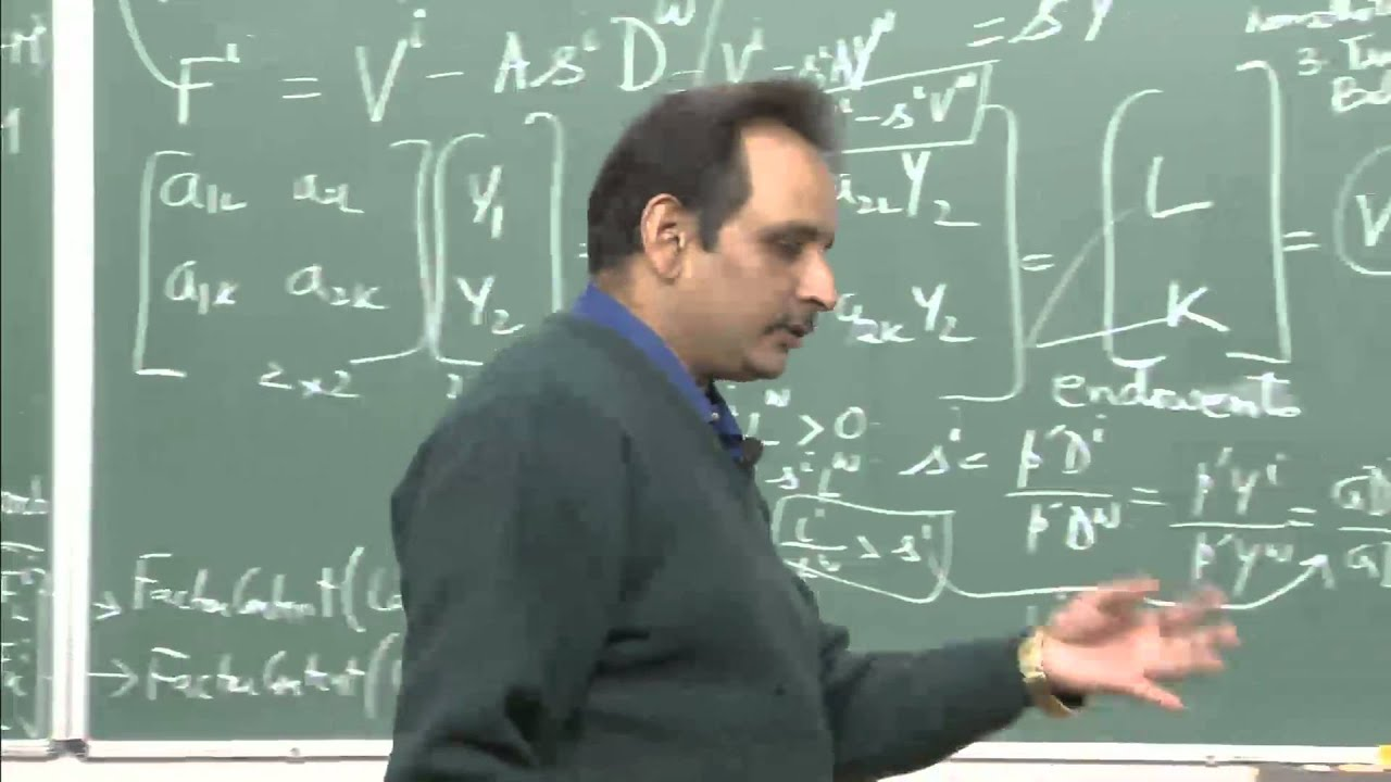 Mod-01 Lec-37 Lecture-37International Economics