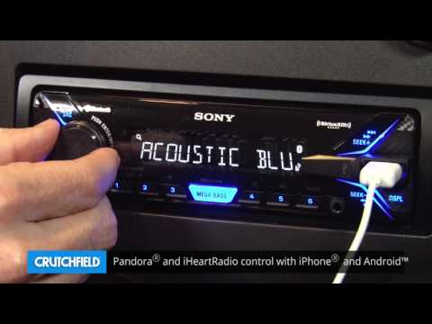 Sony DSX-A405BT Display and Controls Demo | Crutchfield Video