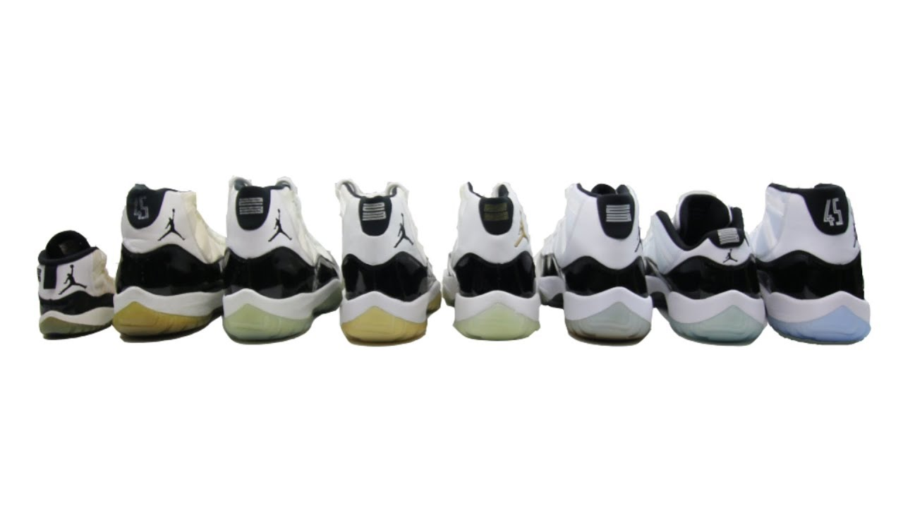 size 40 c98d3 55a96 The Ultimate Air Jordan 11 XI Concord (Sample to 2018) | Review & Comparison