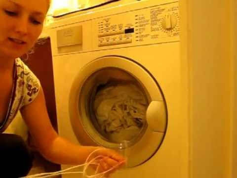 How To Open Blocked Washing Machine Door With A String