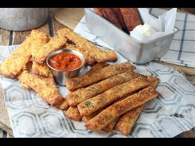 Keto Recipe - Breadsticks