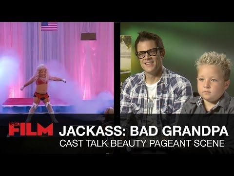 Jackass Bad Grandpa: Beauty Pageant  Secrets