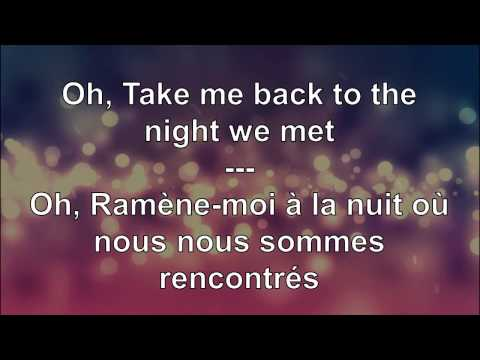 Lyrics traduction française : Lord Huron  - The Night We Met