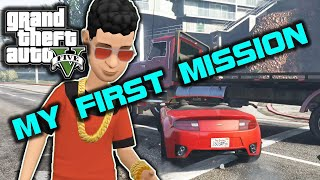 GTA V_MY  FIRST MISSION