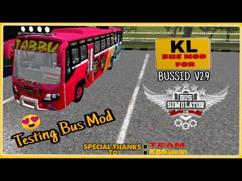 BUSSID V2 9|Indian Private Bus Mod|Tabbu Bus mod For Bus Simulator  Indonesia|New