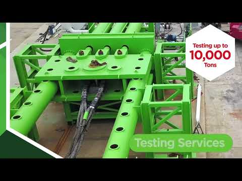 10,000 ton testing now available at Holloway Houston, Inc.