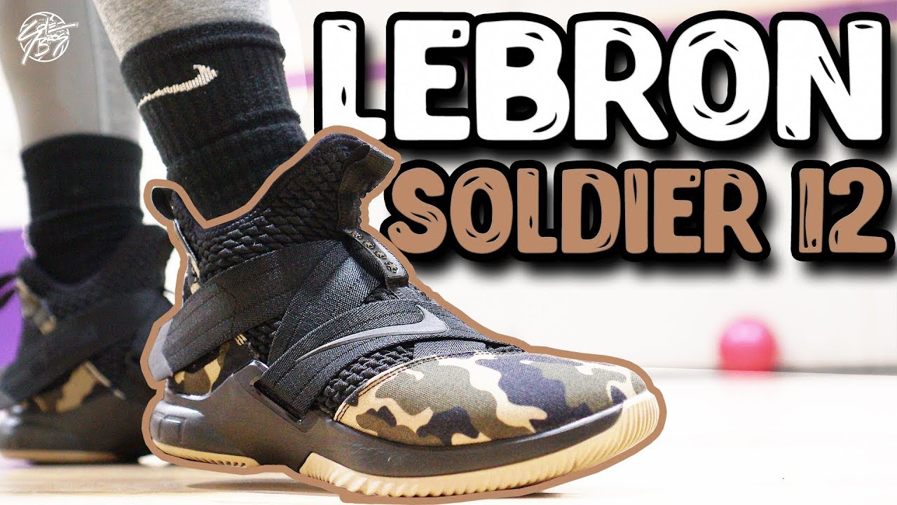 f3b98d826d6 Nike Lebron Soldier 12 Performance Review! - YouTube