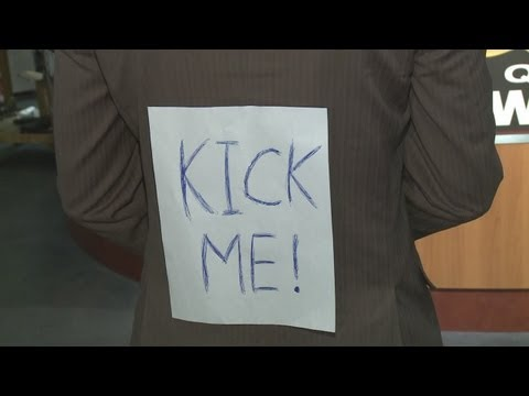 """Kick me"" case goes criminal"