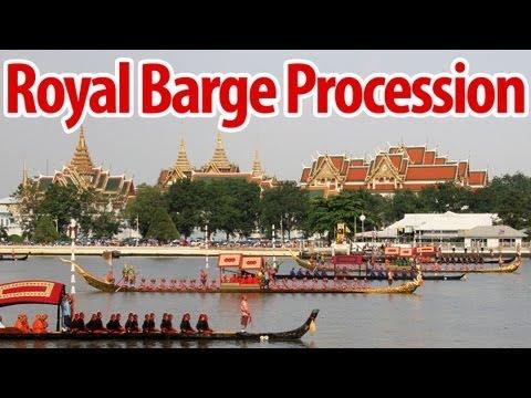 Thai Royal Barge Procession กระบวนพยุหยาตราชลมารค