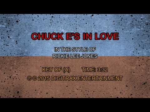 Rickie Lee Jones - Chuck E's In Love (Backing Track)