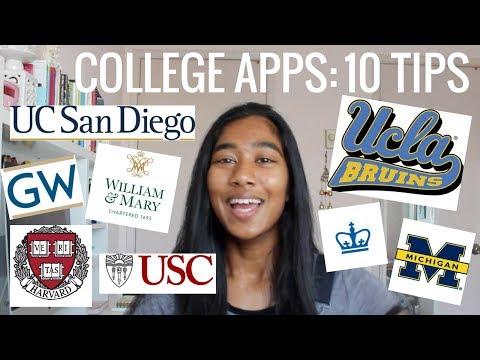 College Application Advice (2017)