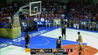 Cesafi Season 13 - USJR vs CITU College Basketball (August 06, 2013)