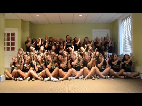 Alpha Chi Omega Song Round 2015