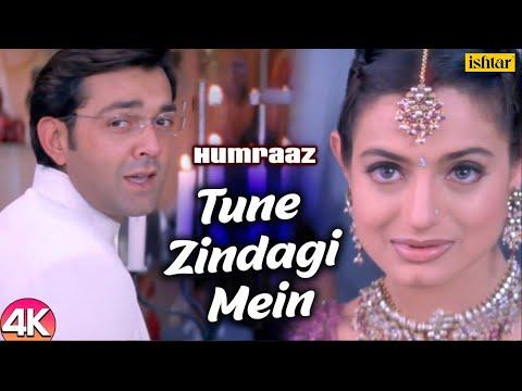 Tune Zindagi Mein - 4K Video |Humraaz | Bobby Deol & Amisha Patel |Udit Narayan |Hindi Romantic Song