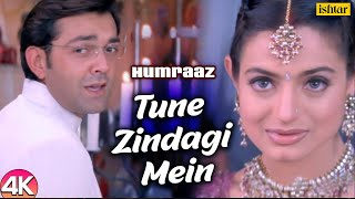 Tune Zindagi Mein - 4K Video |Humraaz | Bobby Deol & Amisha Patel |Udit Narayan |Hindi Romantic Song