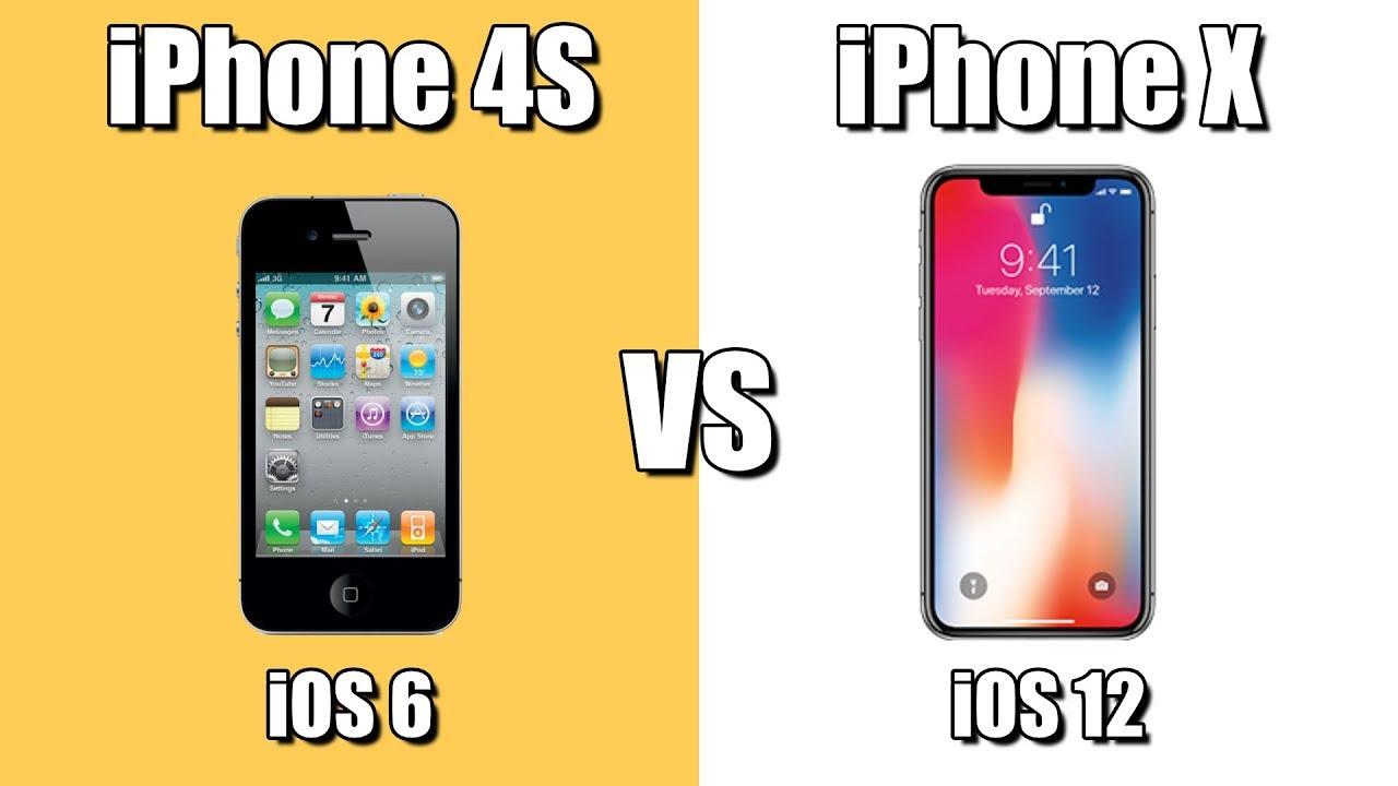 IPHONE 6 VS X