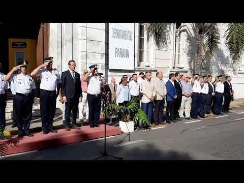 Paraná tiene nuevo jefe de la Departamental de Policía Parte 02