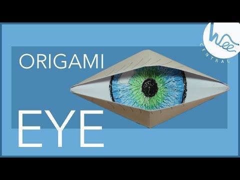 Paper Origami EYE