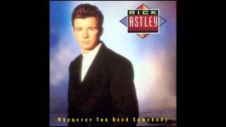 Song Comparisons - Colonel Abrams - Trapped & Rick Astley - Never Gonna Give You Up