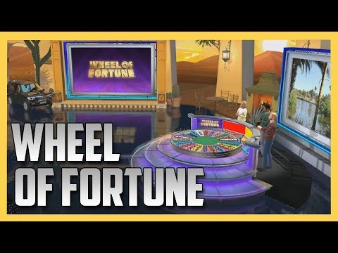New Wheel of Fortune game - slick.