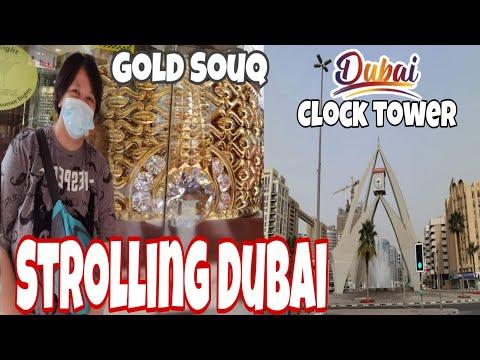 STROLLING AROUND DUBAI ||Gold Souk|| || Karama|| Satwa||