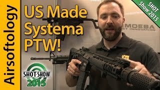 A US Made Systema PTW... is $2800 Worth Perfection? | SHOT Show 2015 | Airsoftology