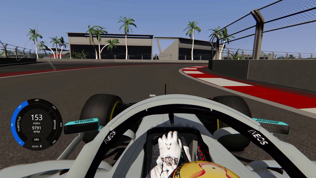 Lewis Hamilton Onboard - Hotlap at Hanoi, Vietnam GP - Mercedes W11 (F1 2020) [Assetto Corsa]