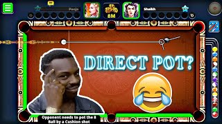 When You Play INDIRECT SHOT for First Time? || Miniclip 8 Ball Pool  ||